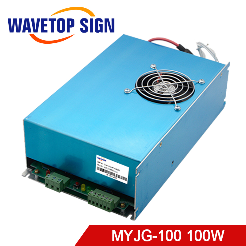 100W CO2 Laser Power Supply for CO2 Laser Engraving Cutting Machine MYJG-100 цены