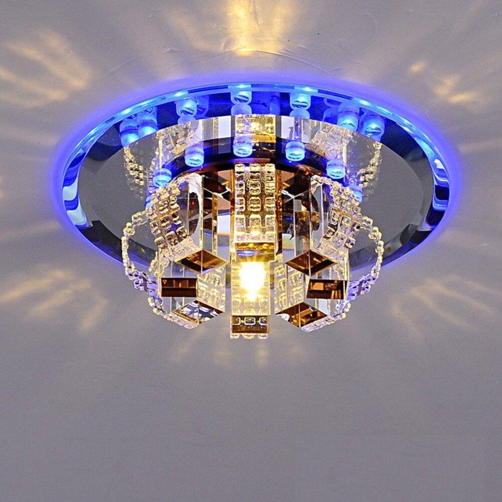 HTB1OGRAavvsK1Rjy0Fiq6zwtXXaV ANTINIYA Modern Crystal LED Ceiling Lamp Ceiling Light Fixture Lighting Ceiling Lights For Living Room Aisle Corridor Kitchen