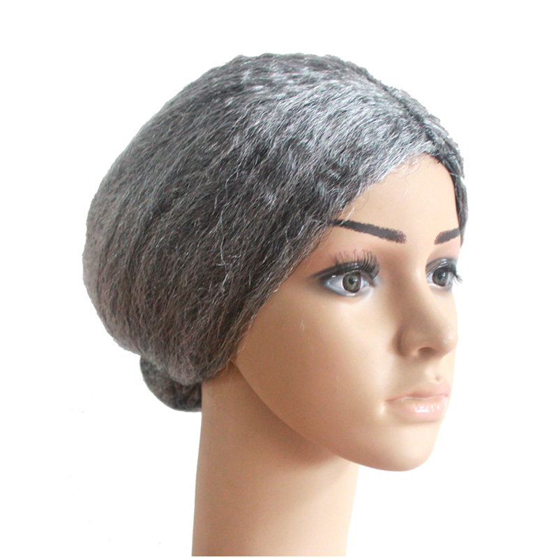 Creative Old Lady Cosplay Wear Gray Props Wig Halloween Party Performance Props Wig Diy Accessories Headwear