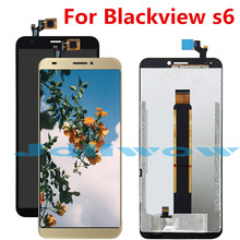 New LCD For Blackview S6 Display+ Touch Screen Digitizer Assembly Repair for lcd display