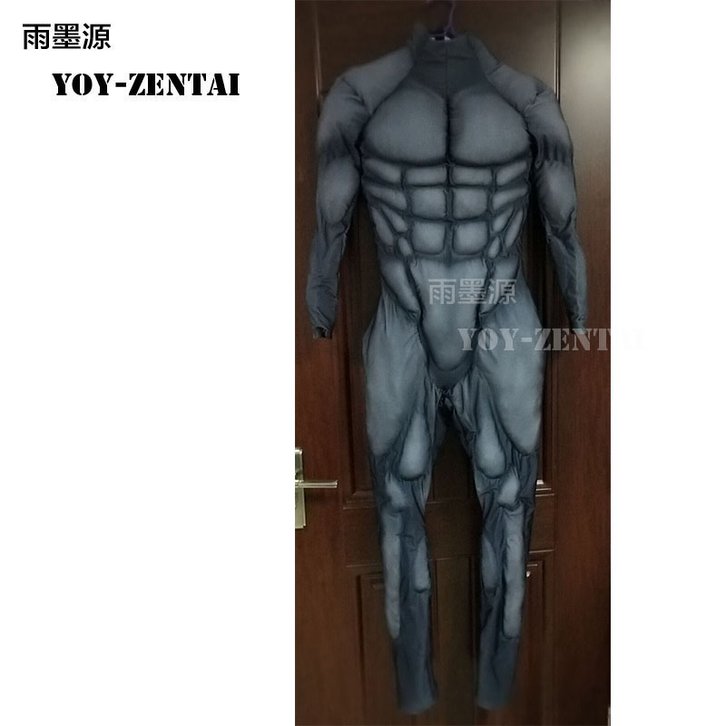 High Quality New Black Muscle Suit