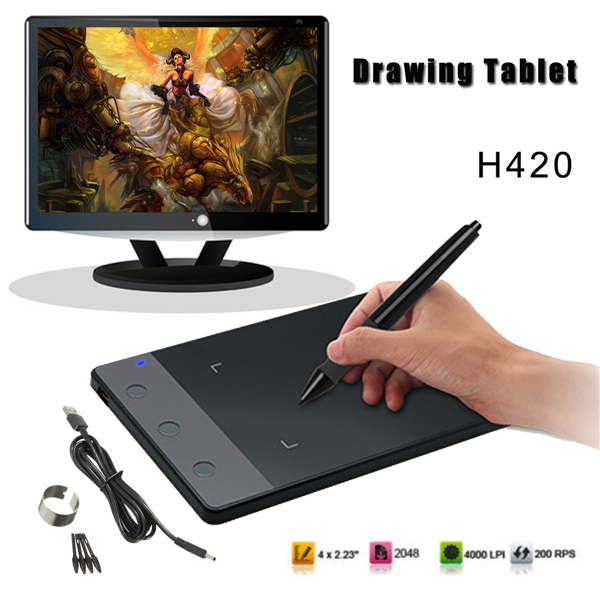 LEORY 1pcs 5V 10 Inches USB Art Design Graphics Drawing Tablet Digital Tablet Art Drawing Board with Digital Drawing Pen я immersive digital art 2018 03 29t18 00