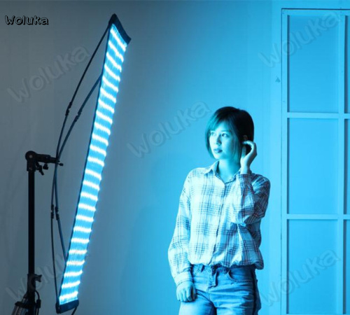Falconeyes LED Colorful Photography Lamp RGB Cloth Lamp Color Video Shooting Lamp Lights RX - 736 CD50 T07