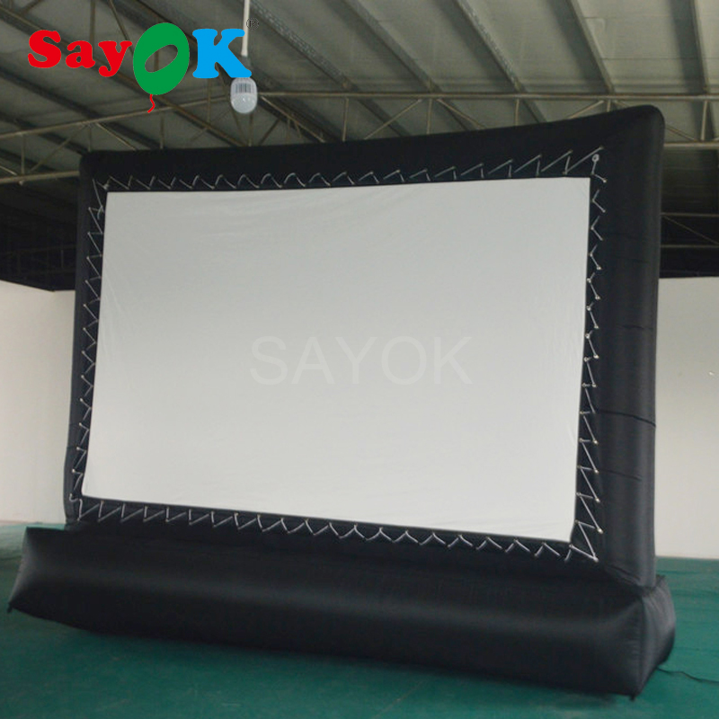 free shipping cheap small inflatable movie screen inflatable projection screen inflatable film. Black Bedroom Furniture Sets. Home Design Ideas