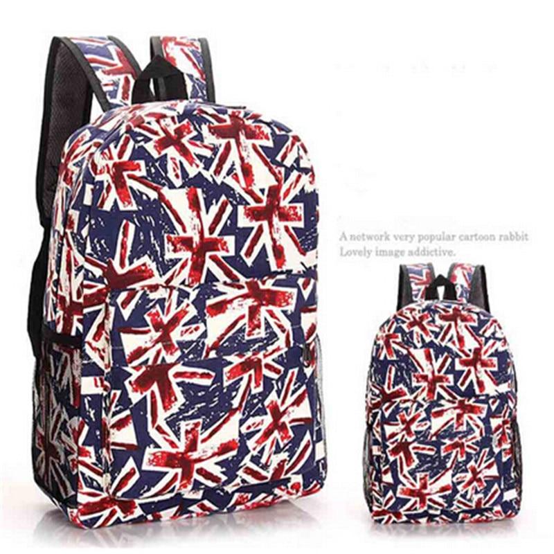ФОТО 2016 casual canvas backpack women fashion school bags for girls Students' Travel backpack shoulder bags mochila