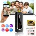 Neue H96Pro-H2 Mini PC 2,4G 5G Wifi TV Stick Amlogic S912 Octa Core Android 7.1 2 GB 16 GB BT4.0 1080 P HDMI 2,0 Miracast TV dongle