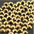 Высокое Качество 1440 ШТ. SS4 1.5-1.6 мм Золото Аурум Блеск Номера Исправлениях Зеленый Хрусталя Nail Art Украшения Flatback Стразы 4ss