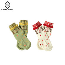 COSPLACOOL leuke sokken warmer calcetines algodon hosiery wool christmas socks paint funny socks women harajuku meias women sock