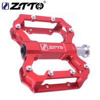 ZTTO 1 Pair CNC Lightweight MTB BMX Road Bike Bicycle Cycling Sealed 6 Bearings Flat Pedal