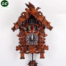 FREE SHIPPING wall clock KAIROS cuckoo clock high quality / wooden cuckoo clock / time bird the photo wall clock