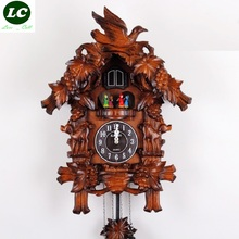 FREE SHIPPING wall clock rotating dance cuckoo clock high quality / wooden cuckoo clock / time bird