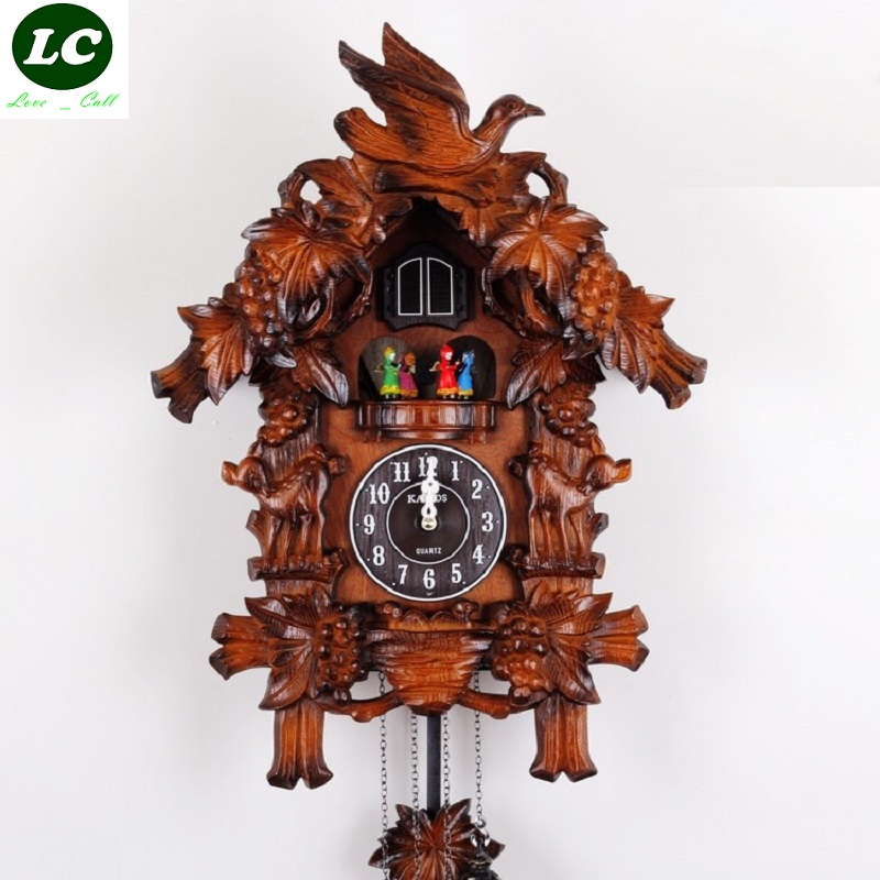 Online buy wholesale cuckoo bird from china cuckoo bird wholesalers - Wooden cuckoo clocks ...