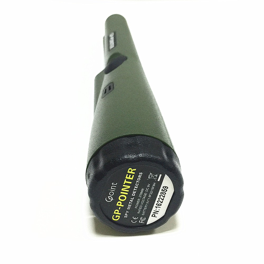Купить 2016 горячее надувательство металл детектор GP-указатель золото детектор высокая чувствительность Статический Обнаружения Россия Армия Зеленый цвет с Браслетом дешево