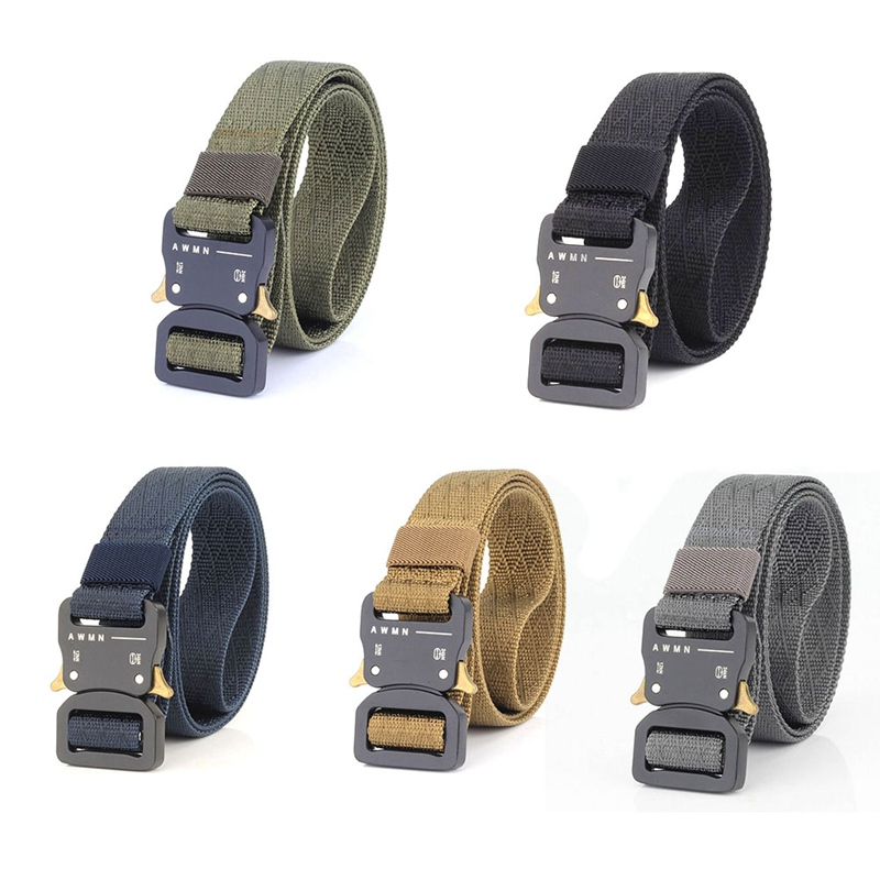 New Arrival Military Equipment Army Belt Men's Heavy Duty Soldier Combat Tactical Belts Sturdy 100% Nylon Waistband