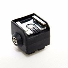 DSLRKIT SC 2 Flash Shoe Adapter Caldo con presa PC Sync