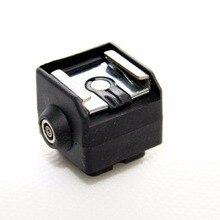 Dslrkit sc 2 flashホットシューアダプター付きpc syncのソケット
