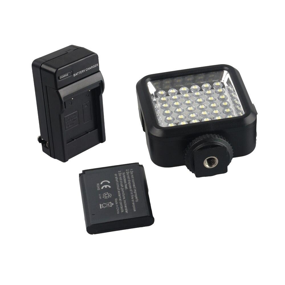 Mini 36 LED font b Video b font Light Photo Camera Hotshoe LED Studio Light Lamp