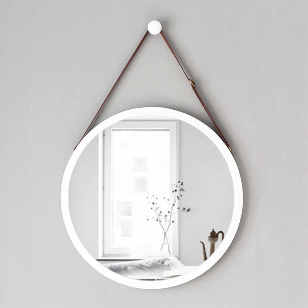 Espejos Redondos Lavabo.Cinturon Bano Espejo Colgante De Pared Espejo Decorativo