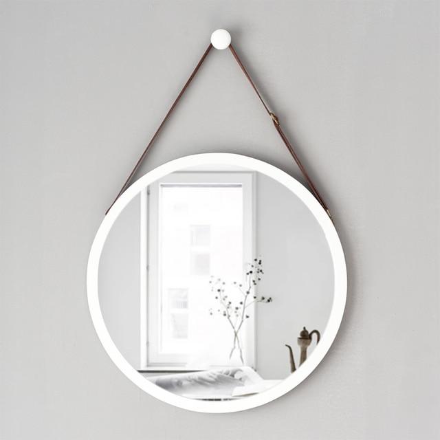 A1 European Style Round Hanging Mirror Bathroom Sink Hotel