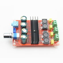 Cheap price XH-M190 Tube Digital Amplifier Audio Board TPA3116 Power Audio Amp 2.0 Class D Amplifiers Stereo HIFI amplifier DC12-24V 2*100W