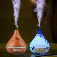 300ml Aroma Essential Oil Diffuser Ultrasonic Air Humidifier Electric Aroma Diffuser Oil Diffuser Aromatherapy Diffuser