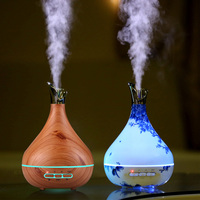300ml Aroma Essential Oil Diffuser Ultrasonic Air Humidifier Electric Aroma Diffuser Oil Diffuser Aromatherapy Diffuser