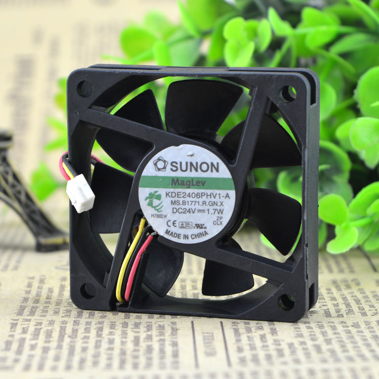 New Original FOR ADDA 80x25mm AD0824UB-A71GL DC 24V 0.26A 2Wire axial server inverter Cooling Fans
