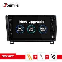 Josmile Car Multimedia Player 2 Din Android 9.0 For Toyota Tundra Sequoia 2007 2008 2009 2010 2011 2012 2013 Autoradio Wifi IPS