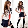 Cosplay Estudantes Marinheiro Uniforme Da Menina Da Escola Japonesa Sexy Moda Traje Anime