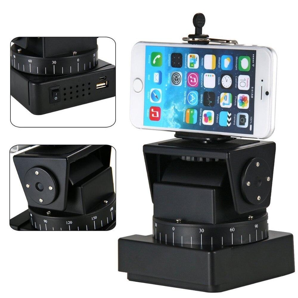 Mcoplus YT-260 Télécommande Motorisé Pan Tilt Tête pour Sony QX1L, AS100 WX300 Extrême Caméra Wifi Caméra et Smartphone