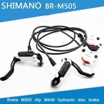 SHIMANO M505 MTB Bike Hydraulic Disc Brake Set Clamp Mountain for  Deore/XT Brake Bicycle Disc Brake & Brake Sheet Screws - DISCOUNT ITEM  13% OFF All Category