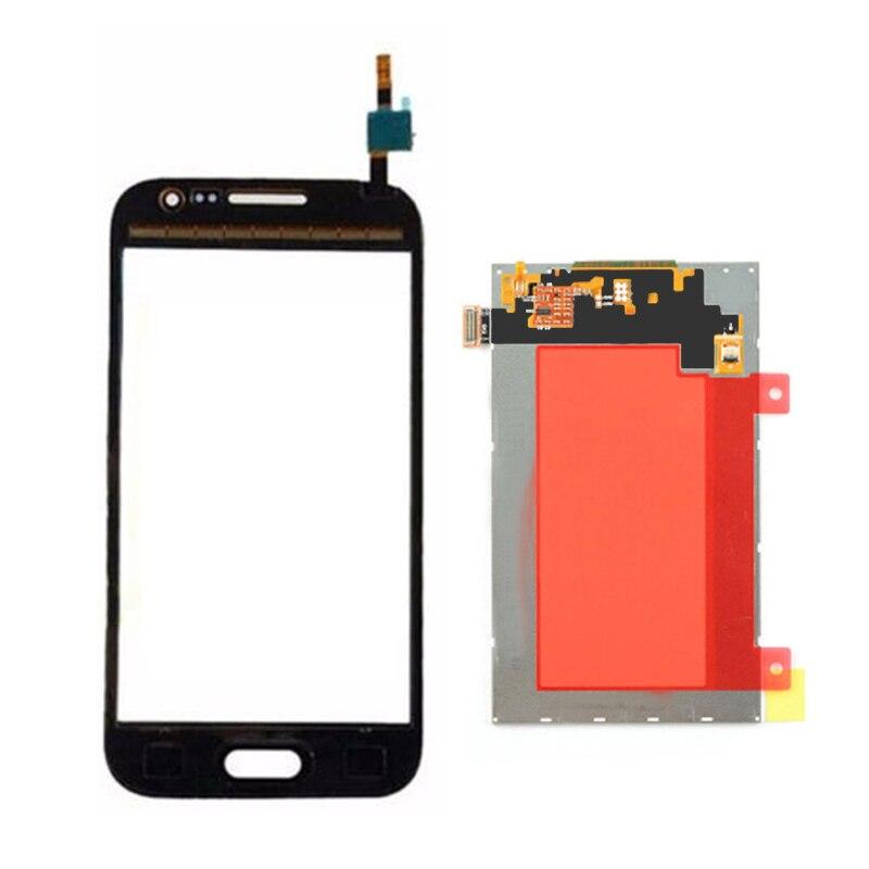 imágenes para Panel de la Pantalla LCD Monitor + Pantalla Táctil blanca Del Digitizador Del Sensor Para Samsung Galaxy CORE Primer G361F G361