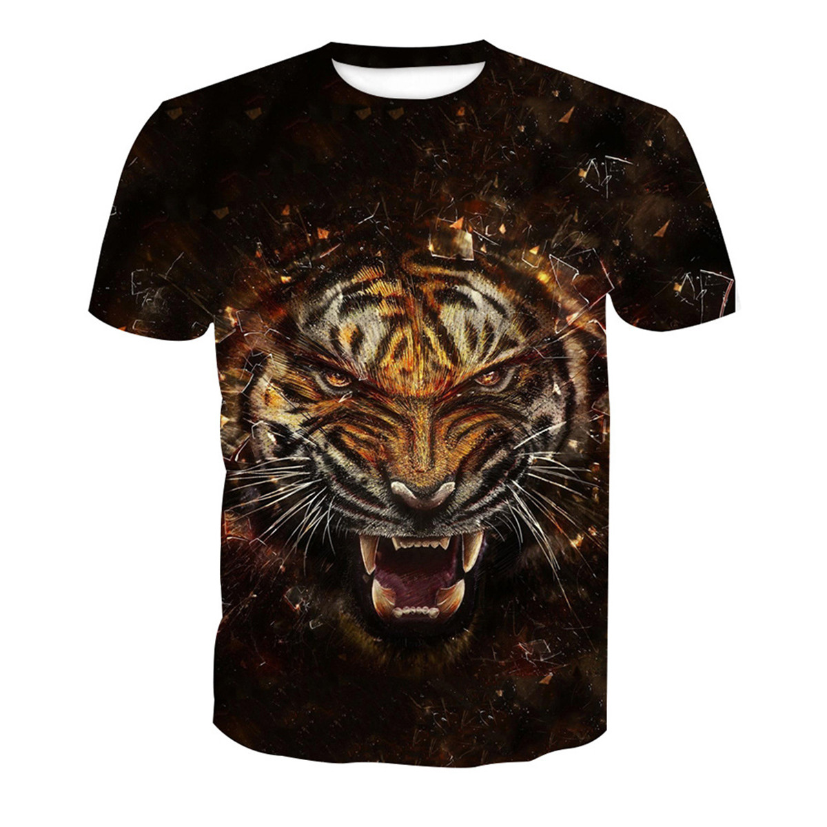 38072509b Tiger Print Shirts Mens | Top Mode Depot