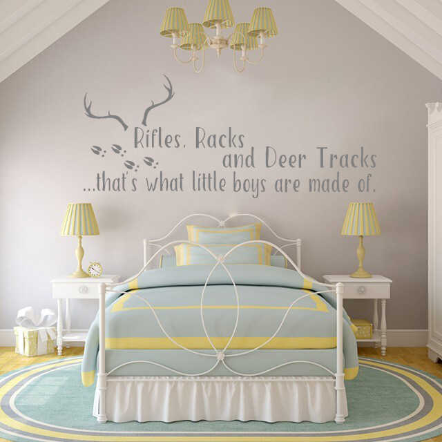 Wall Decals Quotes Vinyl Cute Nursery