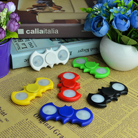 Hot LED Batman Hand Finger Spiner Fidget Plastic EDC Hand Spinner For Autism And ADHD Relief Focus Anxiety Stress Gift Toys #E
