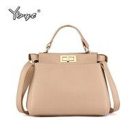 YBYT Brand 2018 New Fashion Women Satchels Famous Designer Package Female Handbags Shoulder Bag Ladies Crossbody
