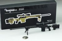 1 6 Scale Mini Metal Sniper Rifle Weapon Gun Model Toys Remington MS Model For