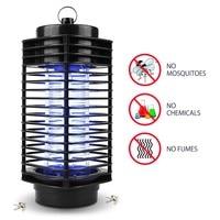 해충 제어 전기 전기 모기 킬러 엄 죽이는 곤충 LED 버그 신랄한 비평 플라이 램프 트랩 말벌 해충 정원 용품