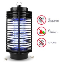 Pest Control Electric Electric Mosquito Killer Moth Killing Insect LED Bug Zapper Fly Lamp Trap Wasp Pest Garden Supplies(China)
