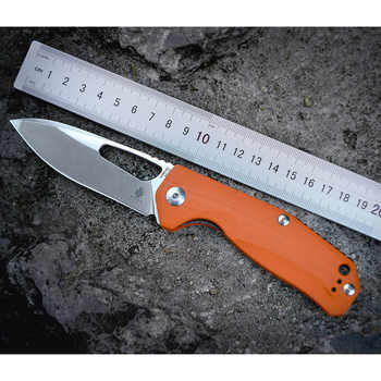 Kizer Survival Knives Camping Outdoor Knife V4461A2 VG10 Drop Point Blade, Orange G10 Handle - DISCOUNT ITEM  0% OFF All Category