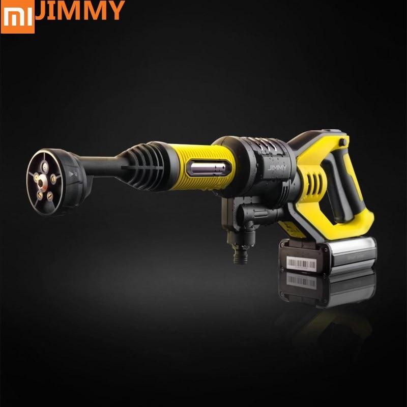 original xiaomi jimmy handheld wireless washing gun 180w 2 2mpa 180l h high press washing gun