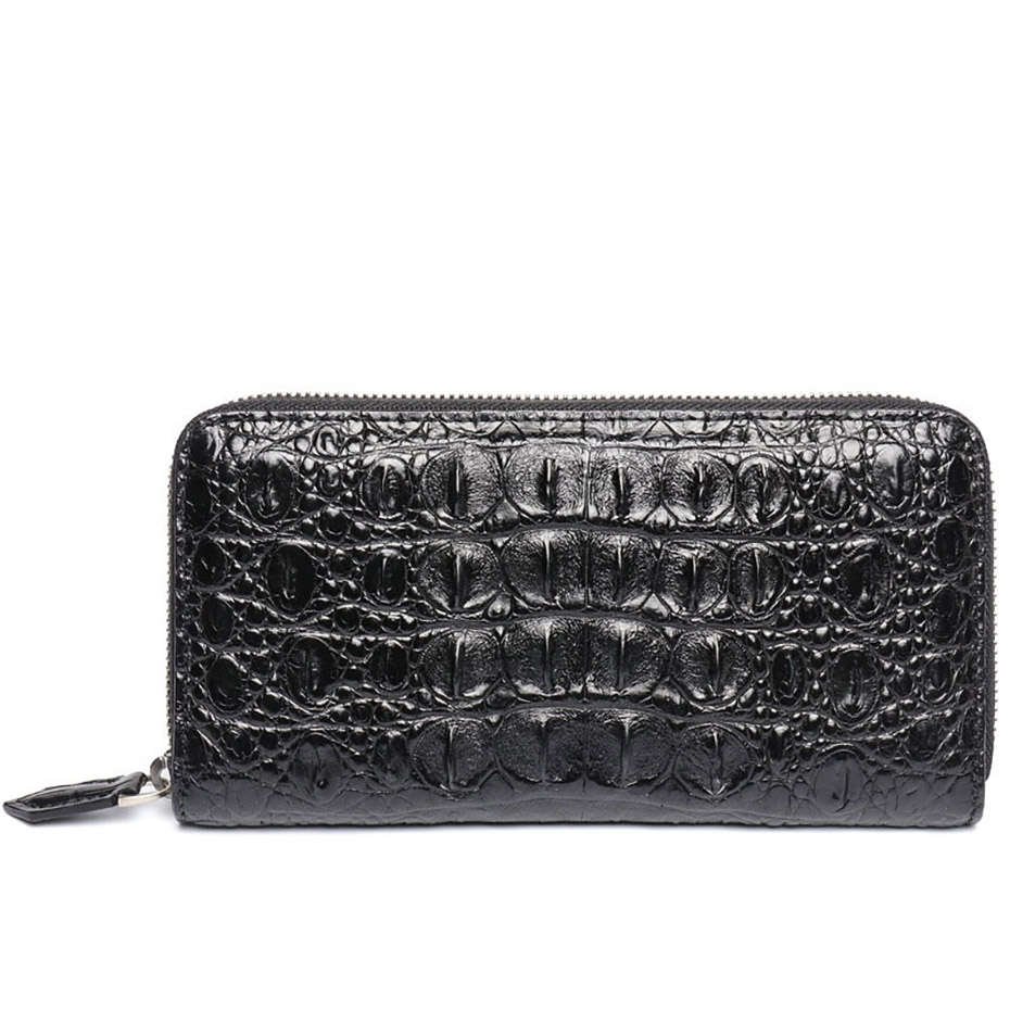 2018 New Arrival Geniune Crocodile Wallets and Purses Unisex Wallet Package Handbag Clutch Bag Large Capacity Best Gift2018 New Arrival Geniune Crocodile Wallets and Purses Unisex Wallet Package Handbag Clutch Bag Large Capacity Best Gift