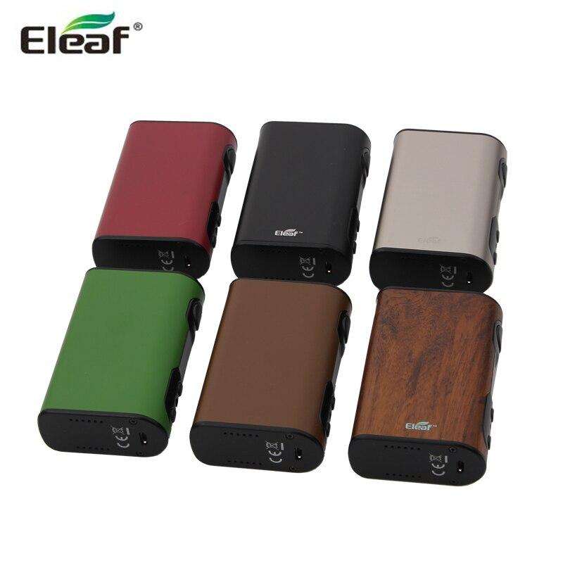 D'origine Eleaf iStick QC 200 W Boîte Mod Vaporisateur 5000 mAh Batterie Intégrée E Cig Vaporisateur fit MELO 300 Électronique Cigarette