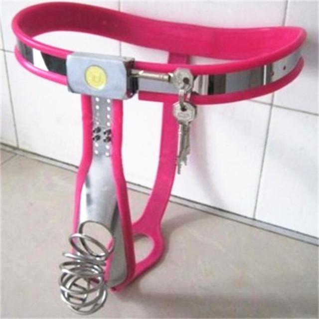 Cinturón de castidad para Hombres de Acero Inoxidable Jaula Del Martillo Del Pene Masculino Dispositivo de castidad Castidad Jaula de Acero SM Juguetes Sexuales para Hombres G4-12