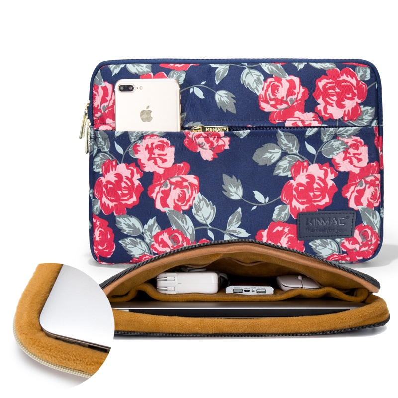 """Image 4 - 2019 New Brand Kinmac Sleeve Case For Laptop 13"""",15"""",15.6 inch Notebook Bag For MacBook Air Pro 13.3,15,4 Free Drop Shipping-in Laptop Bags & Cases from Computer & Office"""