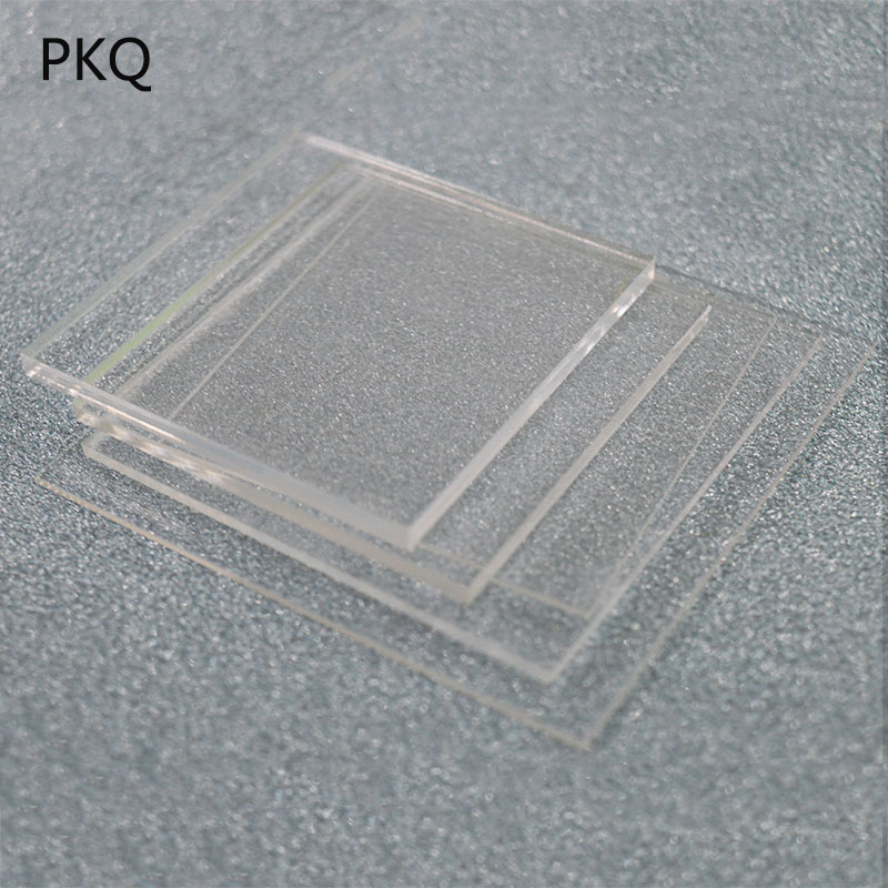 10pcs 1mm 2mm 4mm Acrylic Thickness Clear Perspex Sheet