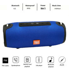 Bluetooth Lautsprecher spalte Drahtlose portable sound box 20W stereo subwoofer fm radio boombox usb sound box pc soundbar für xiaomi(China)