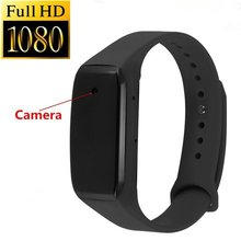 2017 New Arrive HD1080P Sports Wearable Bracelet Portable Mini Camera With Audio Video Recorder Camcorder