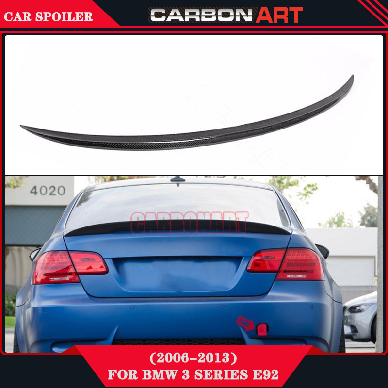 Carbon Fiber Bootlid Spoiler For BMW 3 Series Coupe E92