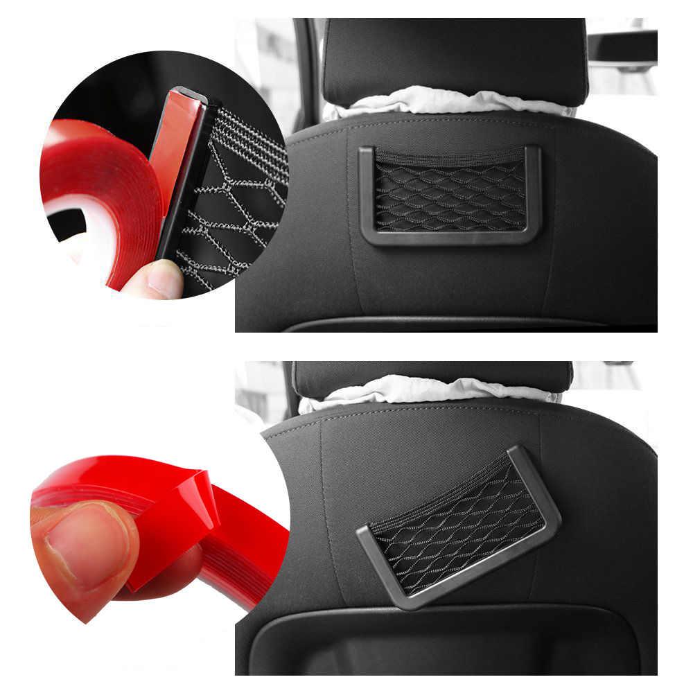 Rylybons rouge Transparent Silicone Double face ruban adhésif autocollant pour voiture haute résistance pas de Traces adhésif autocollant biens vivants